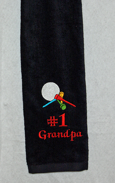 Grandpa Golf Towel