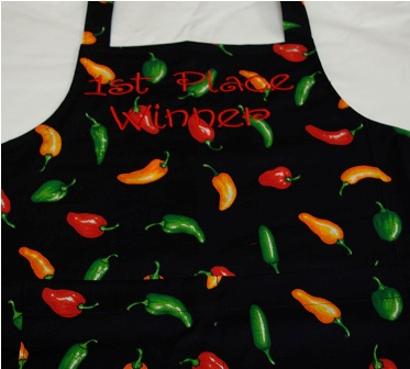 Chili Pepper Personalized Apron