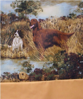 Dogs Hunting Pillowcase