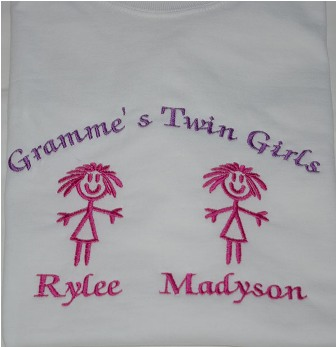 Gramme's Twin Girls Sweatshirt