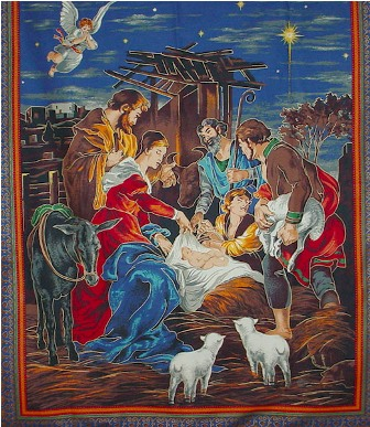 Nativity Wall Hanging 2