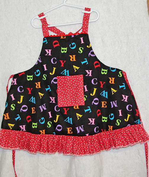 ABC Child's Apron