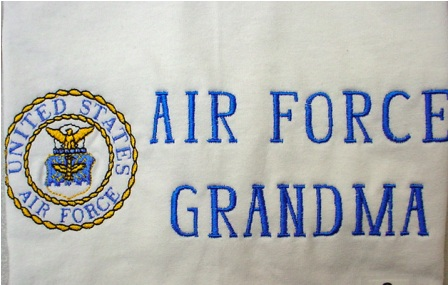 Air Force Grandma Apron