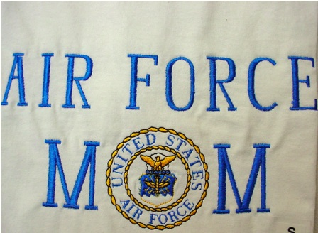 Air Force Mom Apron