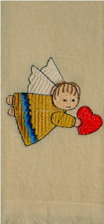Angel #3 Hand Towel