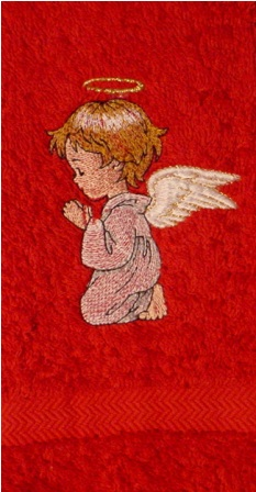 Angel #4 Hand Towel