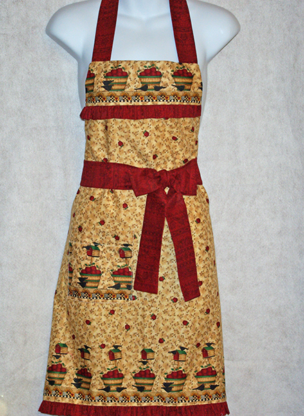 Apple Basket Apron