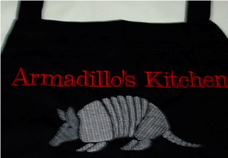 Armadillo's Kitchen Apron