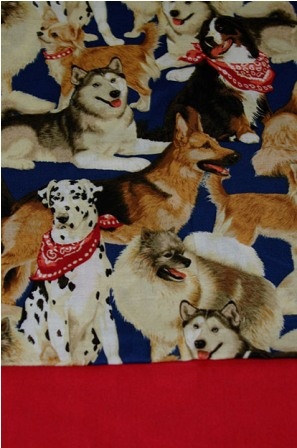 Bandanna Dogs Pillowcase