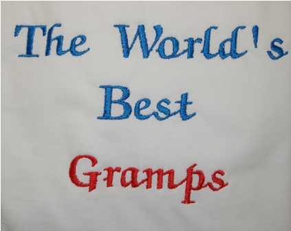 The World's Best Gramps Tee