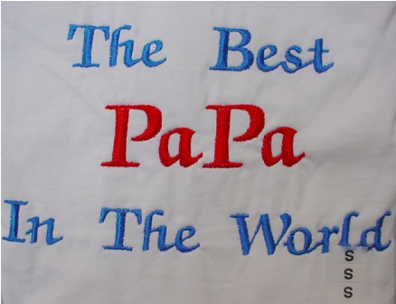 The Best Papa in the World Tee