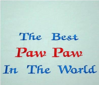 The Best PawPaw In The World Tee