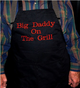 Big Daddy on the Grill Apron