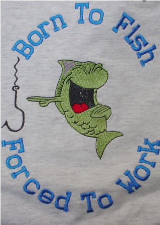 Born To Fish Tee