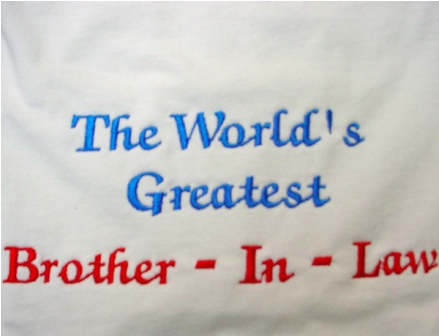 The World's Best Brother-In-Law Tee