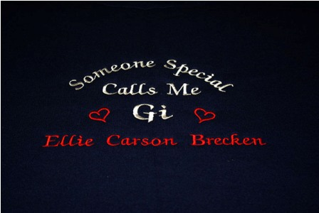 Someone Special Calls Me Gi Personalized Tee