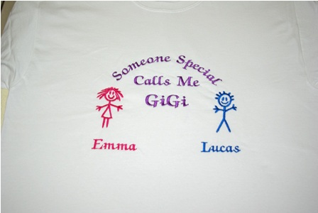 Someone Special Calls Me GiGi Personalized Tee