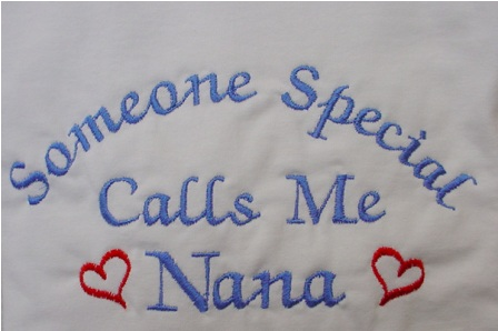 Someone Special Calls Me Nana with hearts