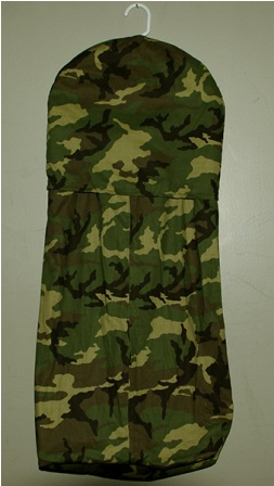 Camouflage Diaper Stacker