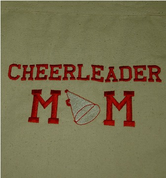 Cheerleader Mom Tote Bag