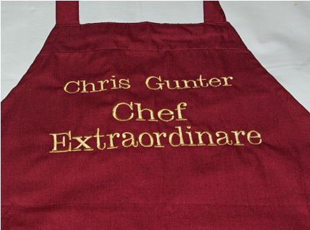 Chef Extraordinaire Personalized Apron