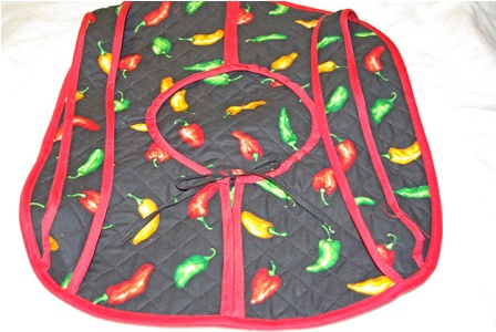 Chili Peppers Casserole Carrier