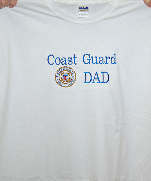 Coast Guard Dad Tee
