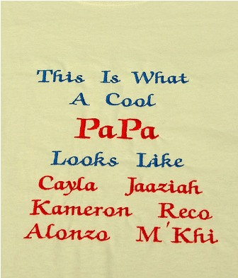 This is What A Cool Papa Looks Like 6 names Tee