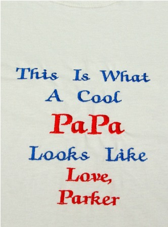 This is What A Cool Papa Looks like personalized Tee