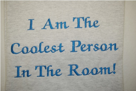 I Am The Coolest Person in The Room Tee