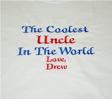 The Coolest Uncle In The World Personalized Tee