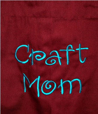 Craft Mom Apron