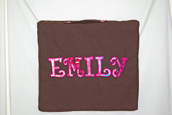 Personalized Craft Pillow