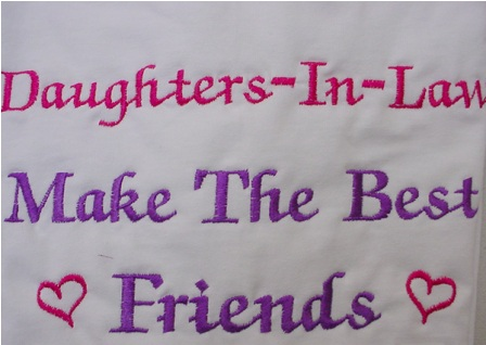 Daughters-In-Law Make The Best Friends Tee