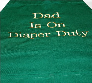 Dad is On Diaper Duty Apron