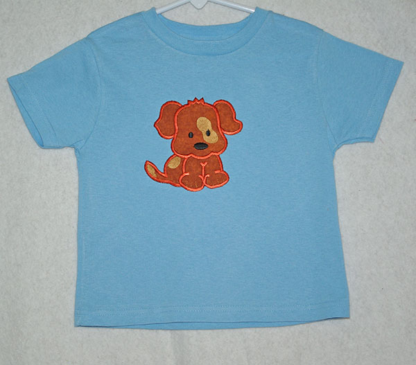 Appliqued Dog Shirt