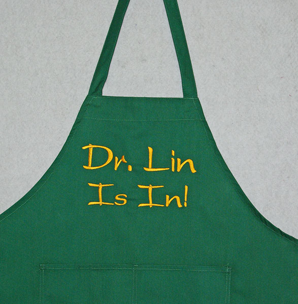 Doctor Is In Personalized Apron