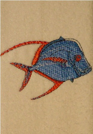 Fish 3 Fingertip Towel