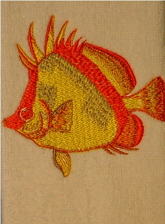 Fish 4 Fingertip Towel