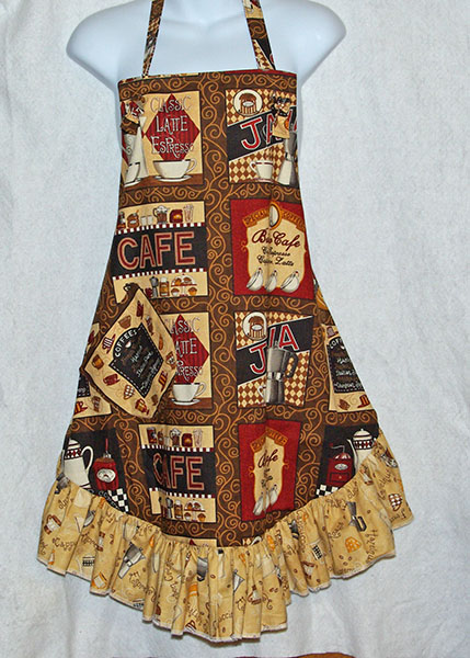 Flirty Coffee Apron