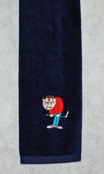 Frustrated Golfer Towel