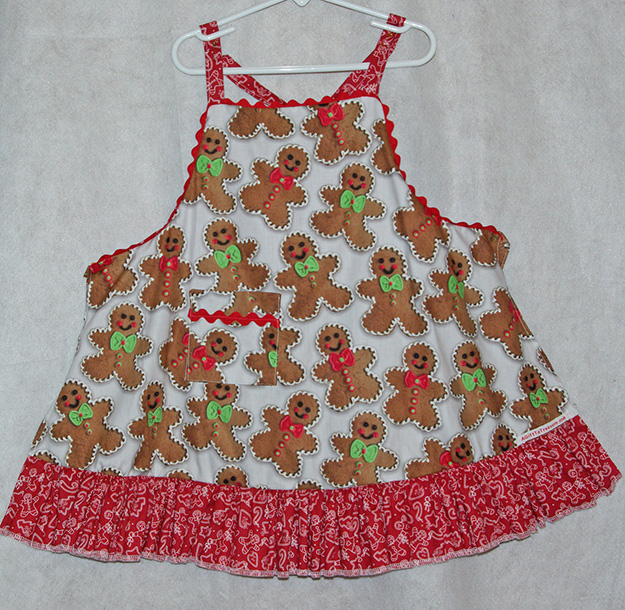 Gingerbread Child's Apron