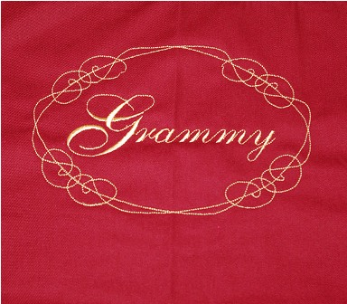 Grammy Fancy Tote Bag