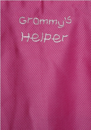 Grammy's Helper Apron
