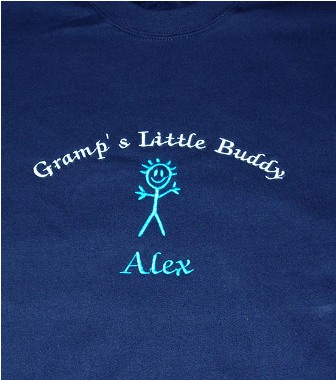 Gramp's Little Buddy Personalized Tee