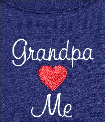 Grandpa Loves Me Sweatshirt