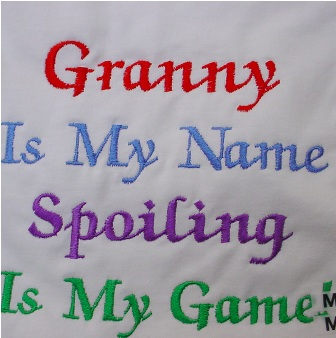Granny Is My Name tee