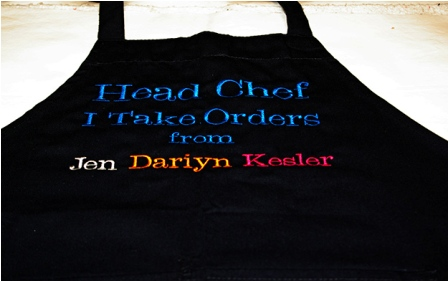 Head Chef Personalized Apron