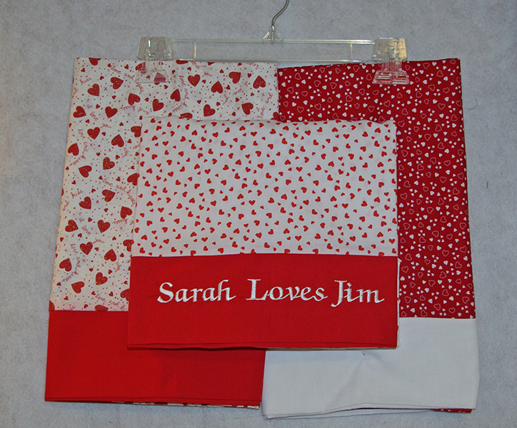 Heart Pillowcase Trio