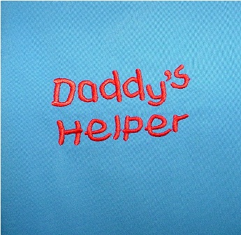 Daddy's Helper Apron